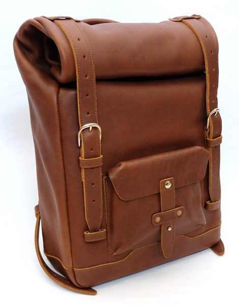 padandquill rolltop leather backpack guide