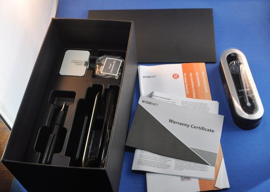 Wisenet SmartCam D1 video doorbell review – The Gadgeteer