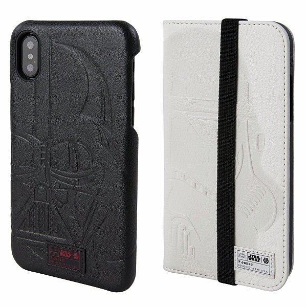 san francisco 10e5f b5ffc A leather Star Wars iPhone X case…Yes please – The Gadgeteer