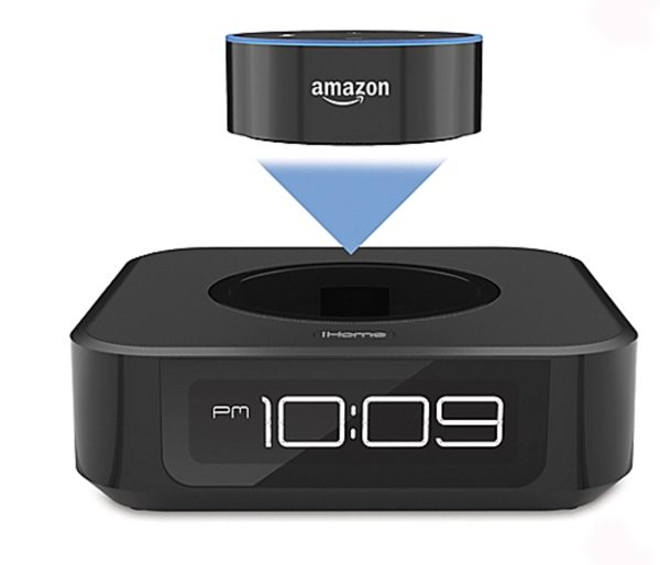 ihome docking bedside speaker amazon echo