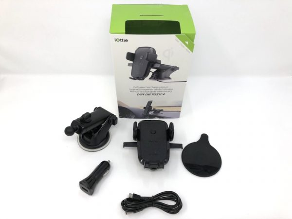 iOttie Easy One Touch 4 Phone car mount review – The Gadgeteer - iottie easy one touch Qi 02 600x450 - iOttie Easy One Touch 4 Phone car mount review – The Gadgeteer