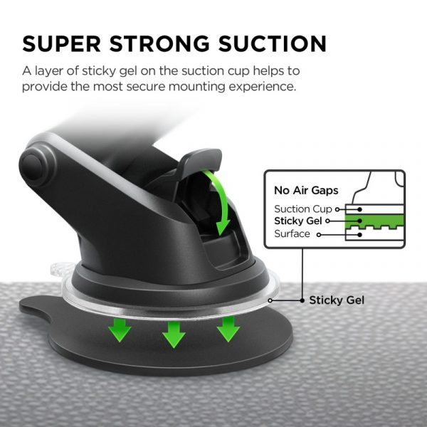 iOttie Easy One Touch 4 Phone car mount review – The Gadgeteer - iottie easy one touch Qi 04 600x600 - iOttie Easy One Touch 4 Phone car mount review – The Gadgeteer