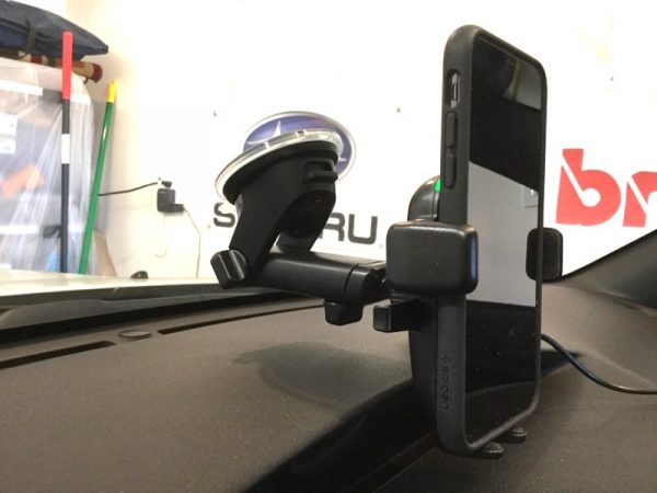 iOttie Easy One Touch 4 Phone car mount review – The Gadgeteer - iottie easy one touch Qi 12 600x450 - iOttie Easy One Touch 4 Phone car mount review – The Gadgeteer