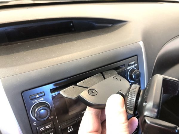 iOttie Easy One Touch 4 Phone car mount review – The Gadgeteer - iottie easy one touch4 CD 05 600x450 - iOttie Easy One Touch 4 Phone car mount review – The Gadgeteer