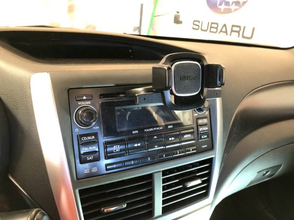 iOttie Easy One Touch 4 Phone car mount review – The Gadgeteer - iottie easy one touch4 CD 07 600x450 - iOttie Easy One Touch 4 Phone car mount review – The Gadgeteer