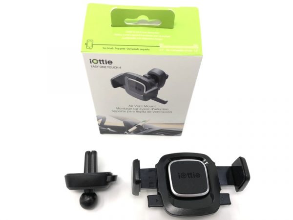 iOttie Easy One Touch 4 Phone car mount review – The Gadgeteer - iottie easy one touch4 vent 02 600x450 - iOttie Easy One Touch 4 Phone car mount review – The Gadgeteer