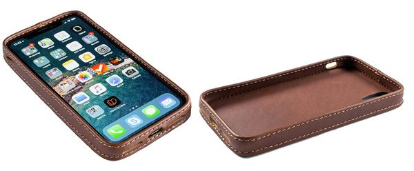 new arrivals 10f2c e6c5e Pad & Quill introduces the first all-leather bumper case for iPhone ...