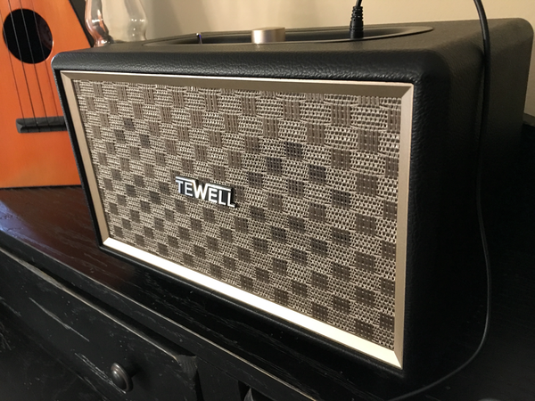 TEWELL RetroRock AC Powered Bluetooth Speaker review – The