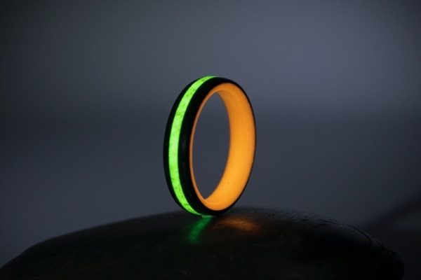 The Ignite ring is made of lava rock and glows – The Gadgeteer