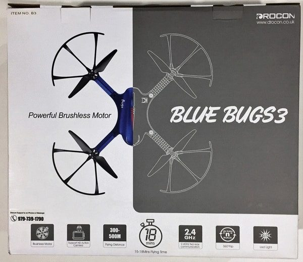 bugs 3 drone review