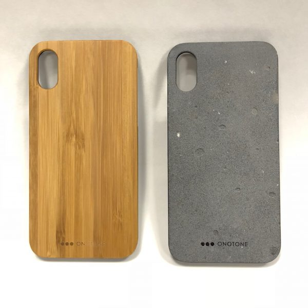 reputable site a0169 85db9 ONOTONE Concrete and Bamboo iPhone X Case review – The Gadgeteer