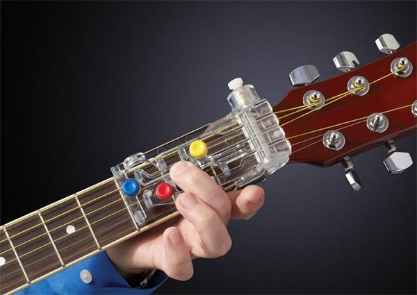 ChordBuddy Guitar Learning System is training wheels for your guitar ...