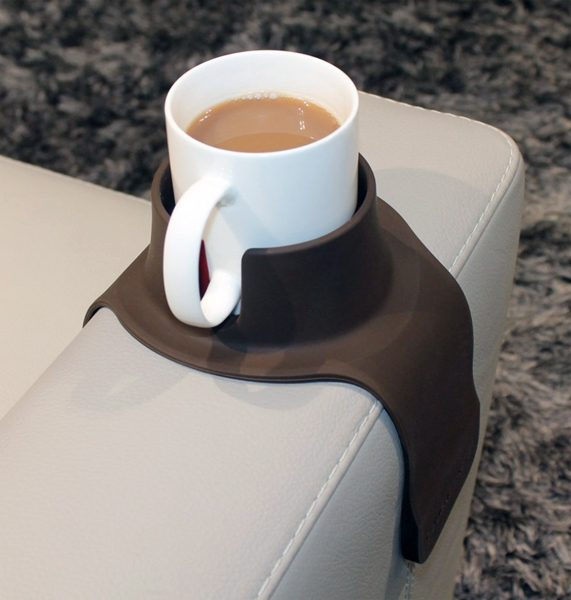couchcoaster solves the problem of where to put your drink – the gadgeteer - couchcoaster 571x600 - CouchCoaster solves the problem of where to put your drink – The Gadgeteer