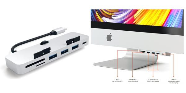 Clamp on five extra ports to your iMac with the new ...