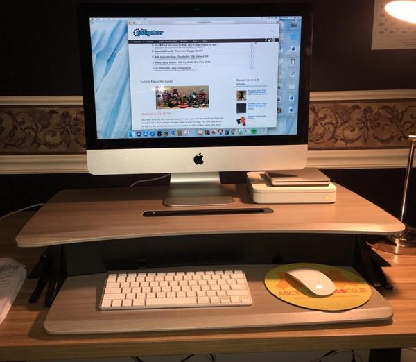 Ergotron Workfit Z Mini Sit Stand Desktop Review The