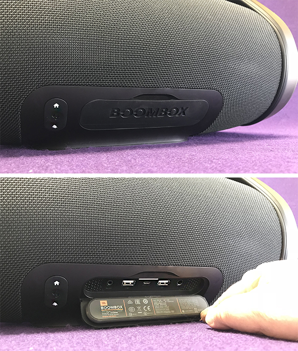 JBL Boombox portable Bluetooth speaker review – The Gadgeteer
