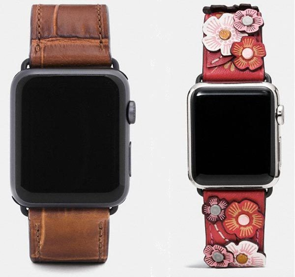 d245d1412 Coach introduces new leather bands for the Apple Watch – The Gadgeteer