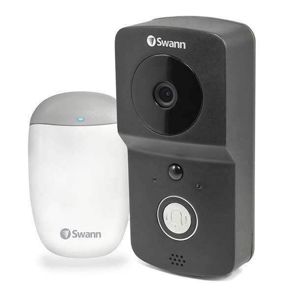 Home security sofun coming soon swanns completely wire free smart video doorbell fandeluxe Gallery