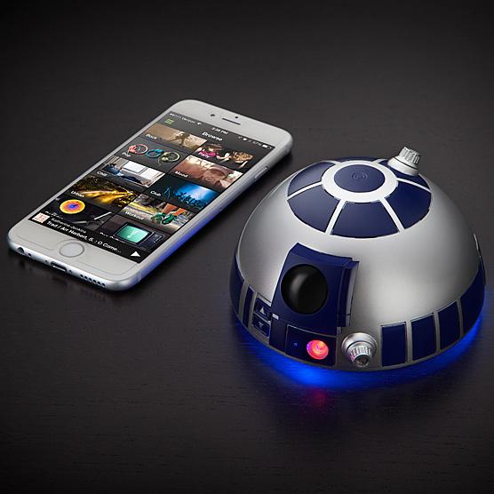 thinkgeek R2 D2bluetoothspeakerphone