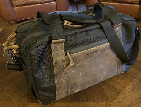 918b8a6d9e When I first learned of Waterfield s recently released Atlas Executive  Athletic Holdall