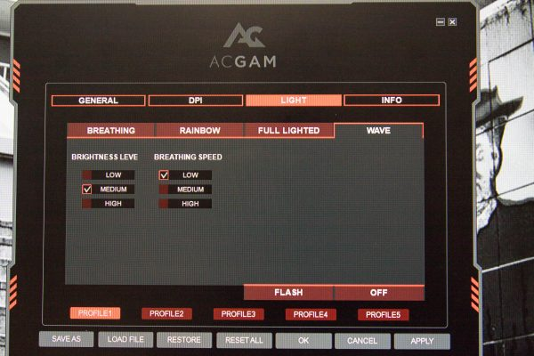 ACGAM Mouse Screen 3