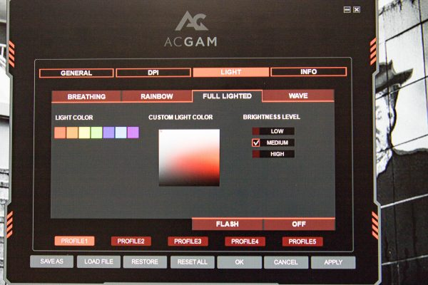 ACGAM Mouse Screen 4