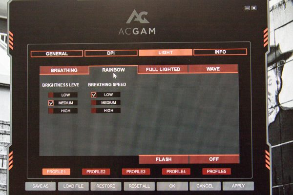 ACGAM Mouse Screen 5
