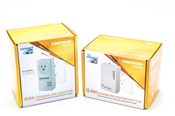 Comtrend Pg 9172poepg 9172pt Powerline Adapters With G