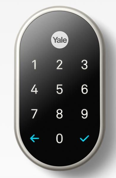 nest x yale door lock