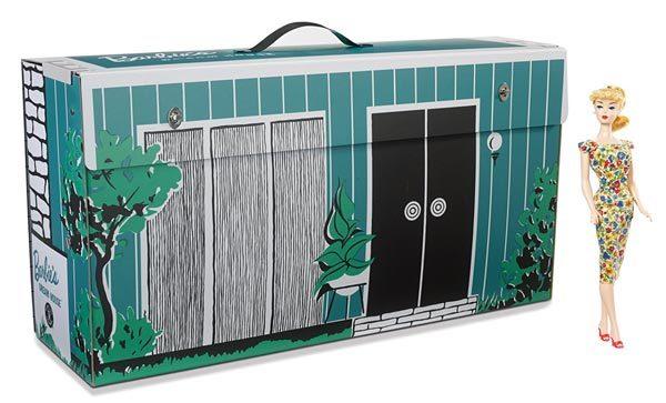 - retro barbie dream house 600x363 - Go retro with Barbie and her Dream House