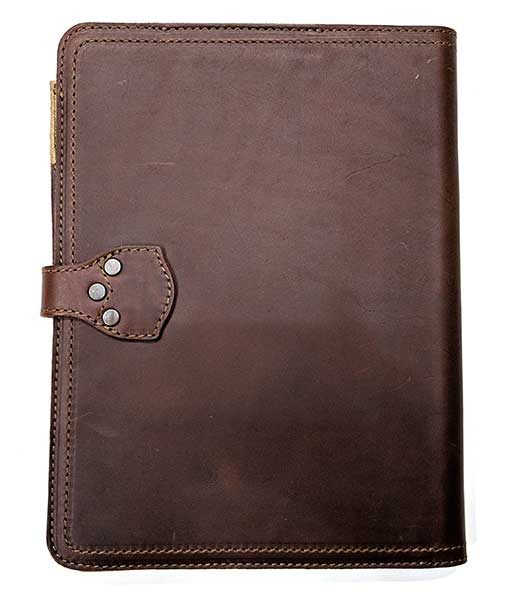 - saddleback tablet holder 2 510x600 - Saddleback Leather Company Tablet Notepad Holder review