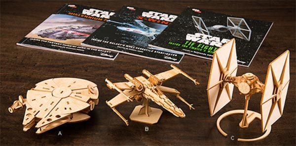 Something New For Star Wars Fans Wooden Model Kits The