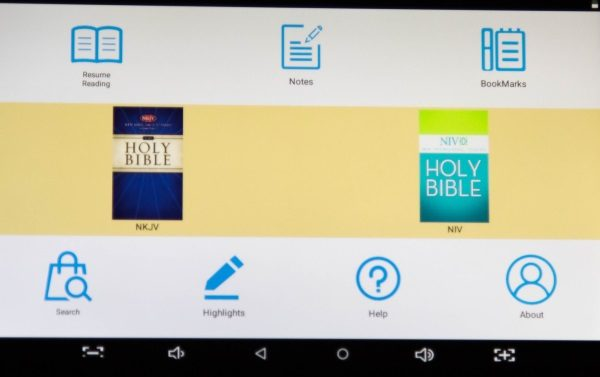 Azpen Android My e-Bible Tablet review – The Gadgeteer