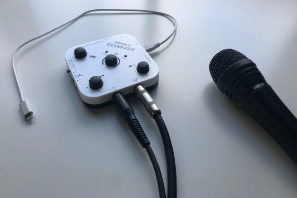 - Roland GoMixer3 600x400 - Roland GO:MIXER audio mixer review