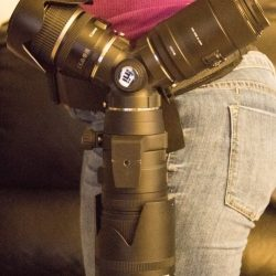 Trilens wearable three lens holder review
