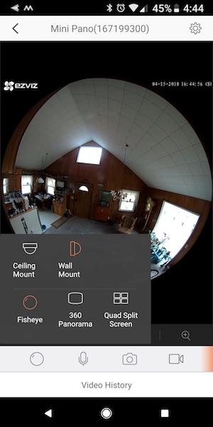 EZVIZ ez360Pano panoramic WiFi camera review – The Gadgeteer