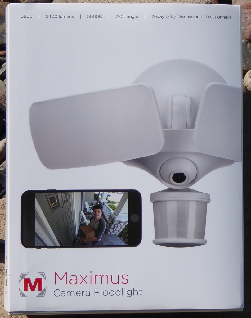 Maximus Camera Floodlight Review The Gadgeteer