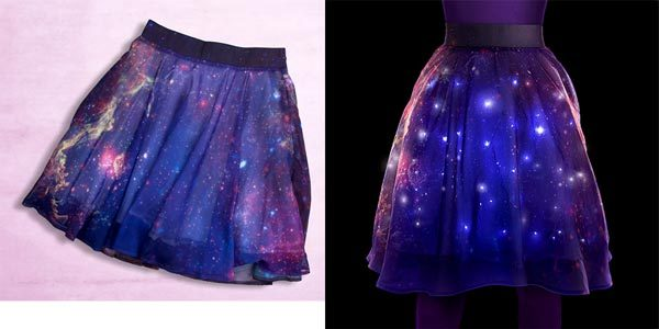 milky way twinkle skirt