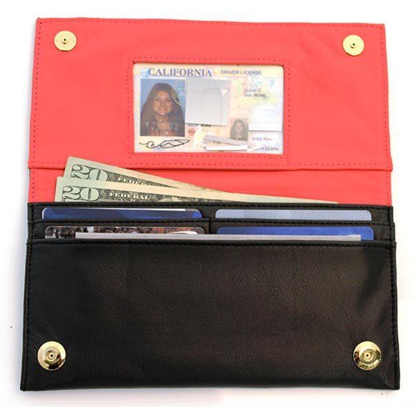 thinnest rfid checkbook wallet