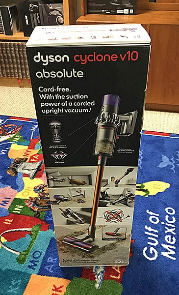 Dyson Cyclone V10 Absolute Stick Vacuum Cleaner Review