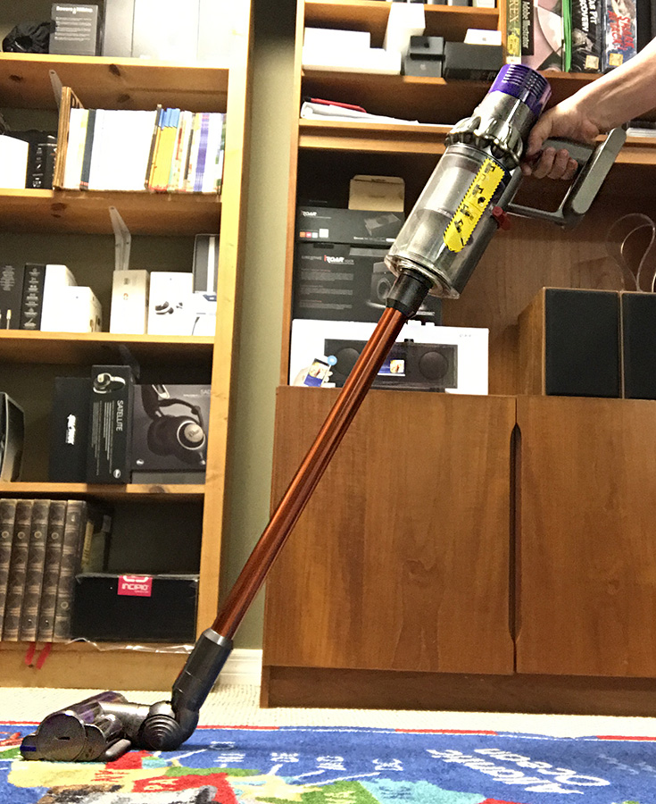 Dyson Cyclone V10 Absolute Stick Vacuum Cleaner Review The Gadgeteer