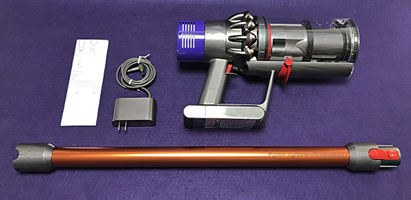 dyson cyclone v10 absolute stick vacuum cleaner review the gadgeteer. Black Bedroom Furniture Sets. Home Design Ideas