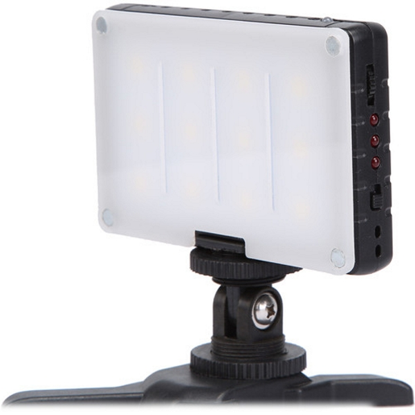 - GVB Gear Compact Daylight On Camera Light with Built In Battery - The GVB Gear Compact Daylight On-Camera Light may just be your go to light when on the go!