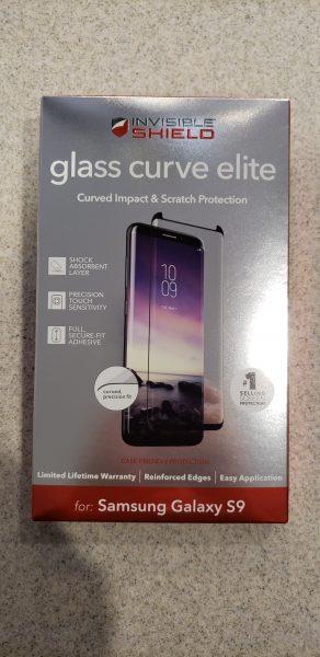 ZAGG InvisibleShield Glass Curve Elite Samsung Galaxy S9