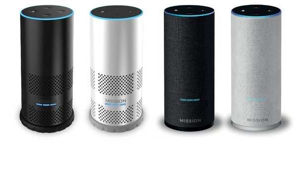 The Mission Battery Shell For Amazon Echo 2