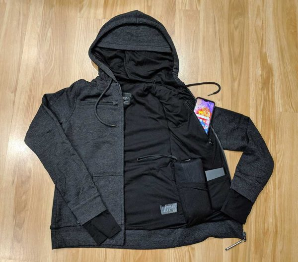 - baubax sweatshirt 20 600x529 - BauBax Women's Sweatshirt jacket review