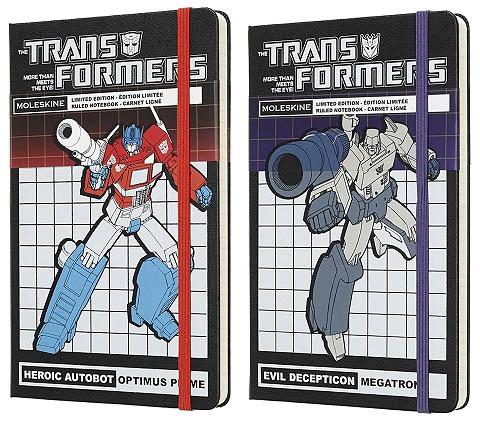 moleskine transformersnotebooks