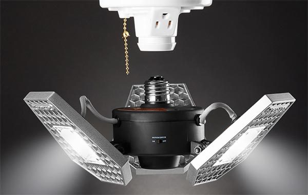 Turn A Single Bulb Garage Or Basement Light Socket Into A