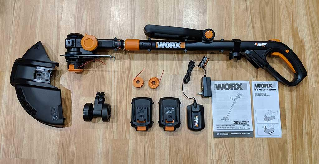 Worx 20v Gt Revolution Trimmer Edger Mini Mower Review The