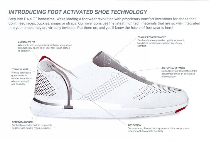 34631eee2170a The F.A.S.T. pamphlet introduces the foot activated shoe technology. (click  to enlarge).